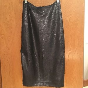 Anthropologie by Paper Crown sequin skirt size 2